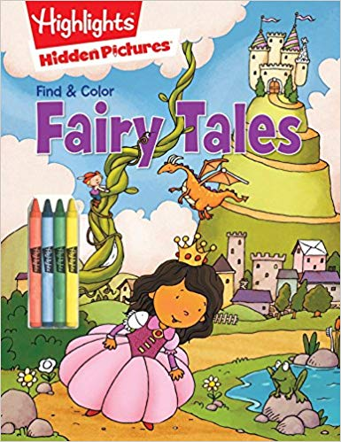 Fairy Tales (Highlights Find & Color Hidden Pictures)