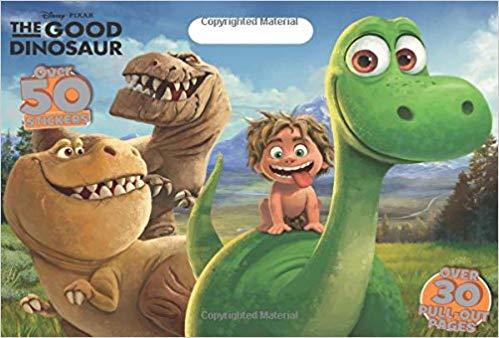Disney Pixar the Good Dinosaur Coloring Floor Pad