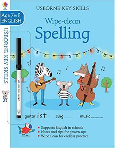 Wipe-clean Spelling 7-8