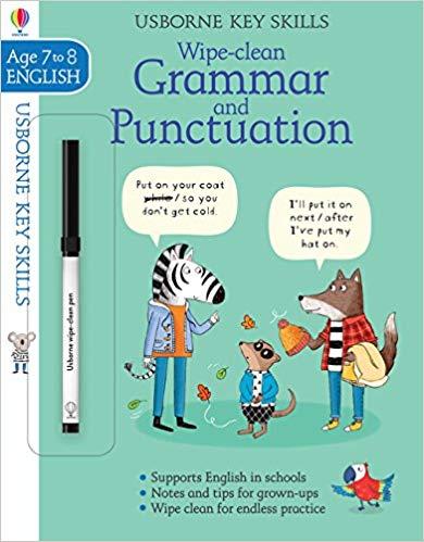 Wipe-Clean Grammar & Punctuation 7-8