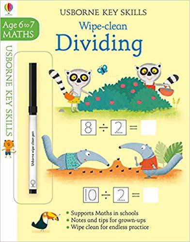 Wipe-clean Dividing 6-7