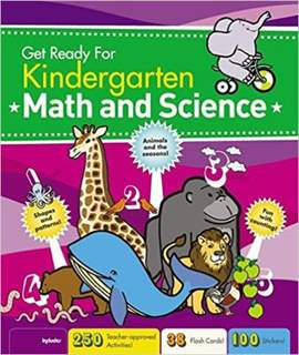 Get Ready for Kindergarten Math & Science Spiralbound