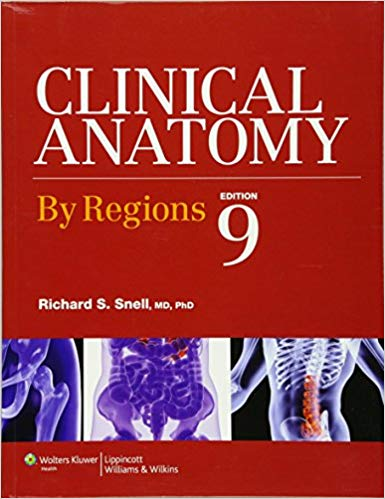 Clinical Anatomy by Regions 9th edition