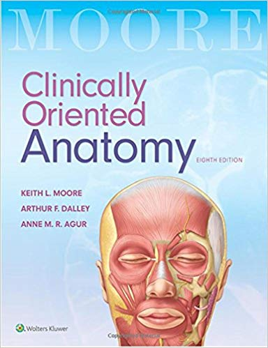 Clinically Oriented Anatomy 8th edition