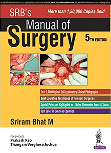 SRB's Manual of Surgery 5th Edition