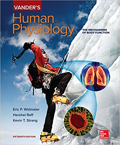 vander's human physiology the mechanisms of body function 15th edition