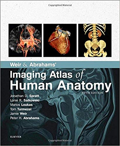 Weir & Abrahams' Imaging Atlas of Human Anatomy 5th Edition