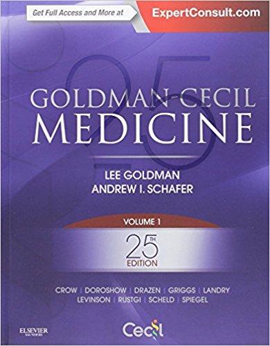 Goldman-Cecil Medicine 2-Vol Set 25th Edition