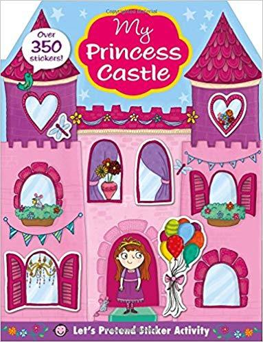 My Princess Castle Sticker Activity Book