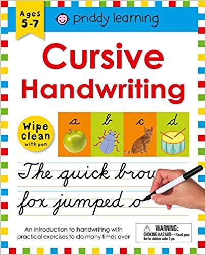 Wipe Clean Workbook: Cursive Handwriting
