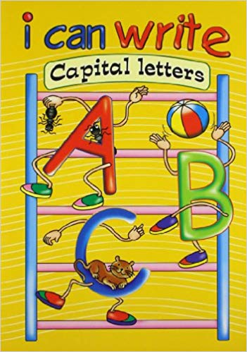 I Can Write Capital Letters