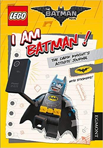 I Am Batman! The Dark Knight's Activity Journal