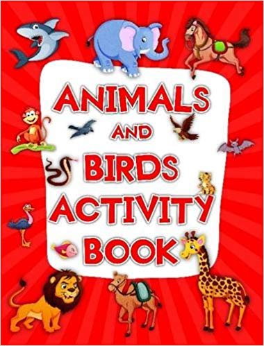Animals and Birds Activity Book