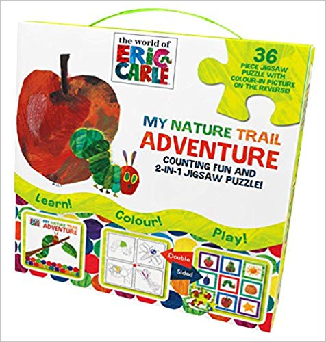 The World of Eric Carle My Nature Trail Adventure: Counting Fun and 2-in-1 Jigsaw Puzzle