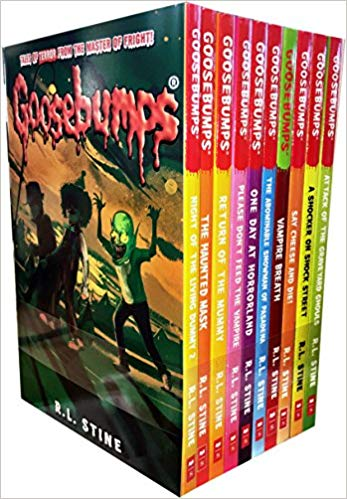 Goosebumps Horrorland Series 10 Books Collection