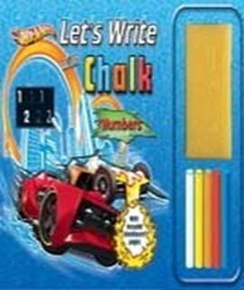 Lets Write With Chalk: Hotwheels (Numbers)