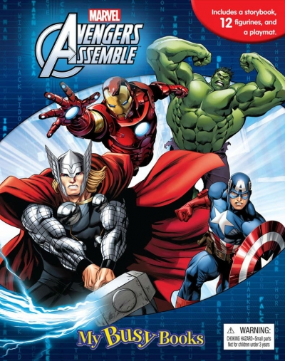 Marvel Avengers Assemble: My Busy Book