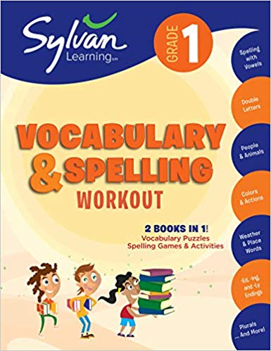 Vocabulary & Spelling Workout 1st Grade