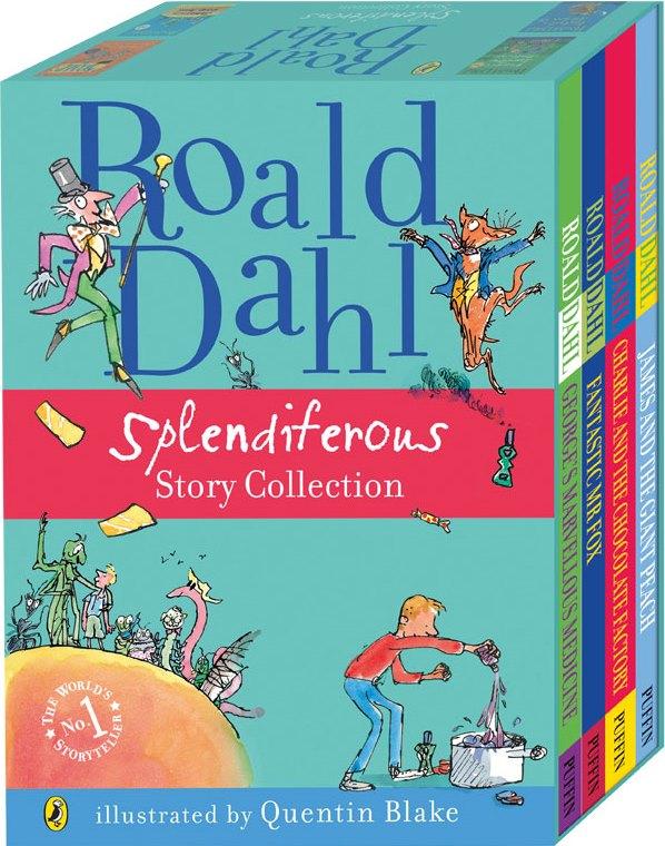 Roald Dahl Splendiferous Story Collection Boxed Set