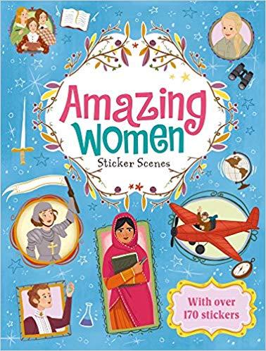 Amazing Women: Sticker Scenes