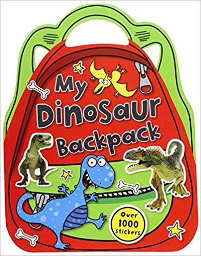 My Dinosaur Backpack: Shaped Sticker Activity Books