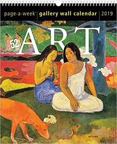 Art Gallery Wall Page-A-Week Gallery Wall Calendar 2019
