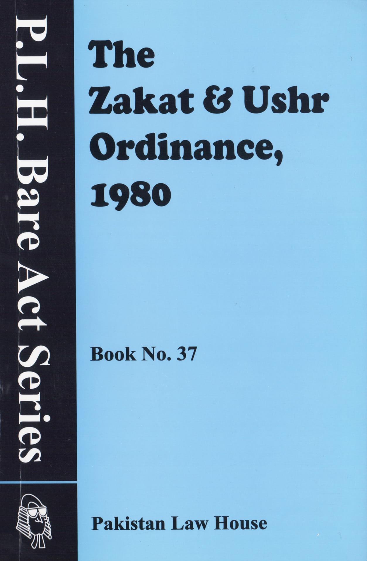 The Zakat And Ushr Ordinance, 1980