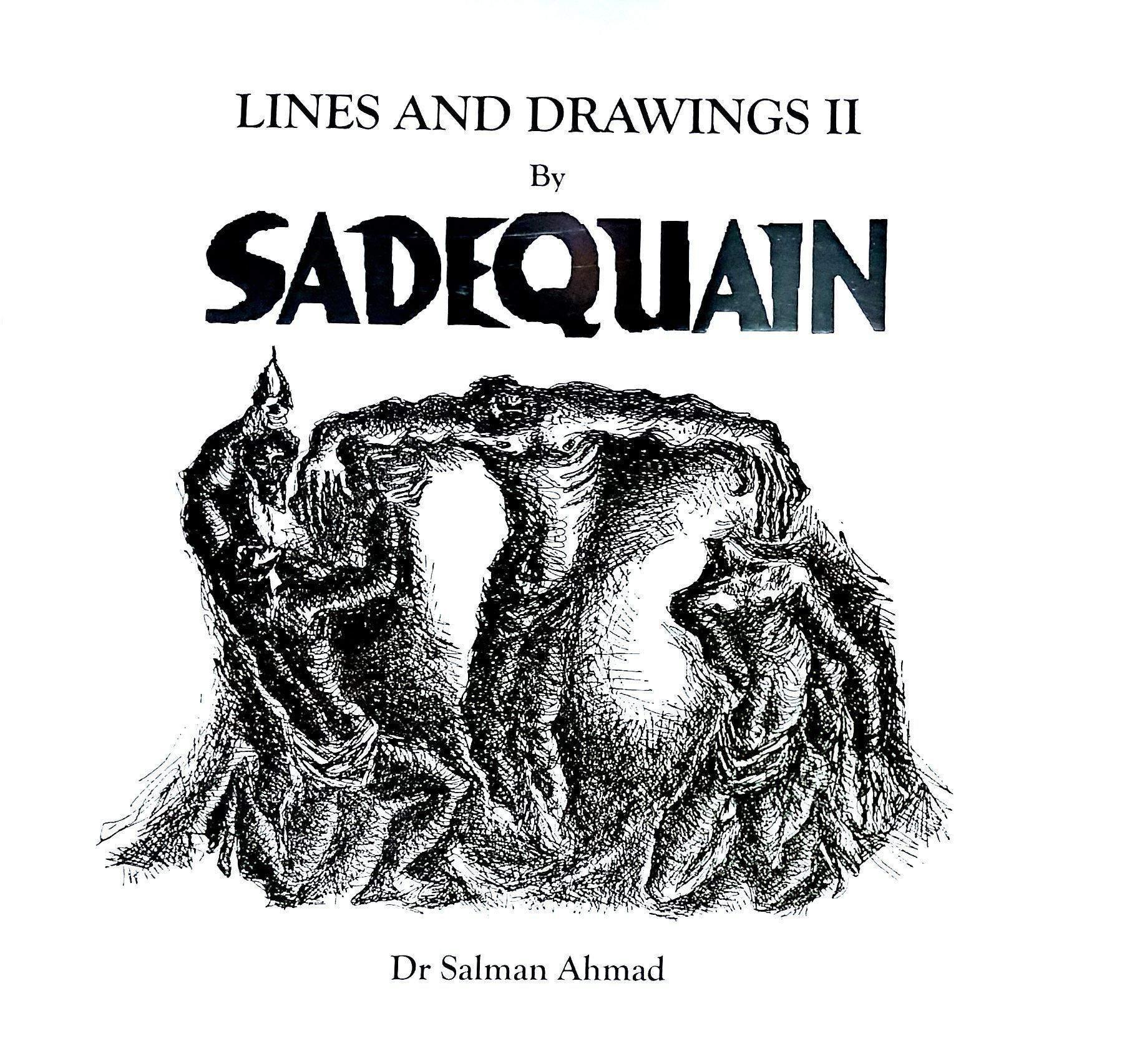Lines and Drawings by SADEQUAIN