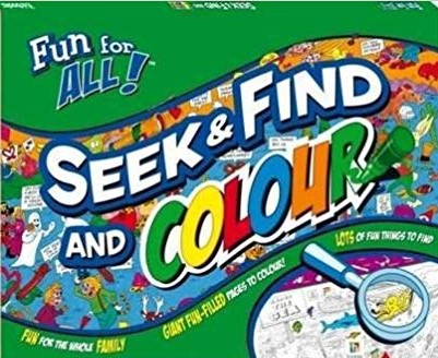Seek And Find And Colour