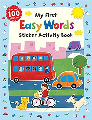 My First Easy Words Sticker Activity Book