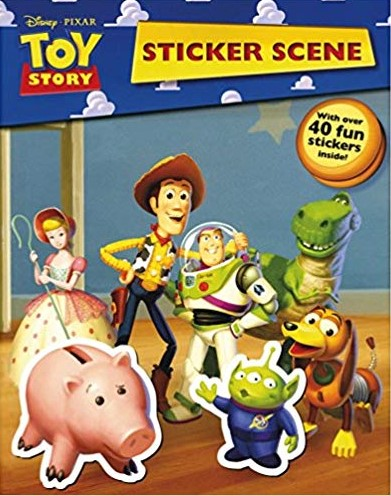 Disney Pixar Toy Story Sticker Scene
