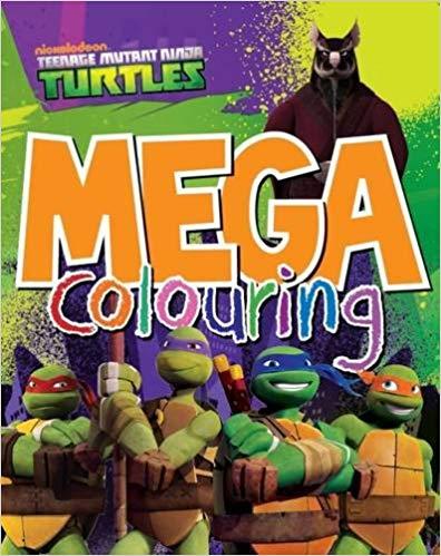 Teenage Mutant Ninja Turtles Mega Colouring