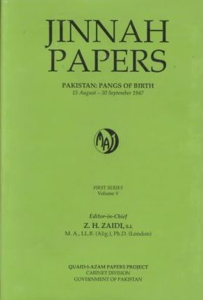 Quaid-E-Azam Mohammad Ali Jinnah Papers