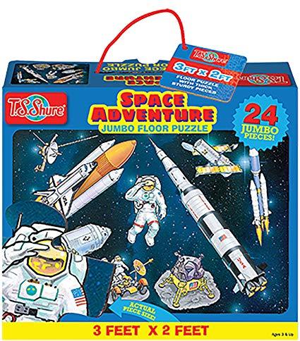 Space Adventure Jumbo Floor Puzzle