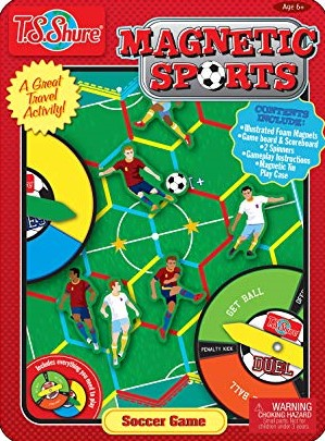 Soccer Game Magnetic Sports Tin