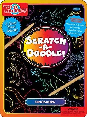 Scratch-A-Doodle Princesses & Fairies Activity Tin