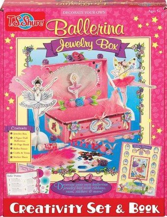 Ballerina Jewelry Box Kit