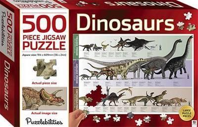 Dinosaurs 500 Piece Jigsaw Puzzle