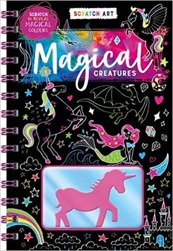 Scratch & Color: Magical Creatures