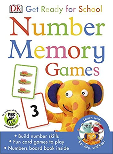 Bip, Bop, and Boo Get Ready For School Games: Number Memory (Skills for Starting School)