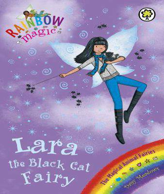 Rainbow Magic 72 Lara The Black Cat Fairy