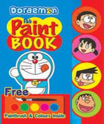 Doraemon Gab Paint Book