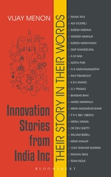 Innovation Stories from India Inc Their Story in Their Words
