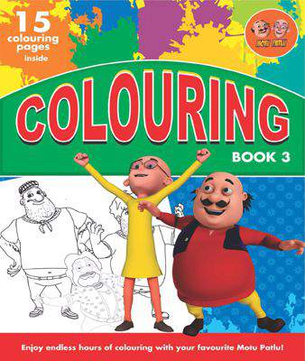 COLOURING BOOK - 3