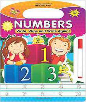 WRITE WIPE & WRITE AGAIN NUMBERS