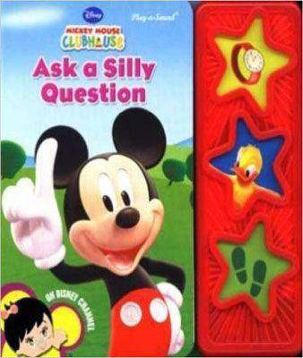 Ask a Silly Question (3 Button Board Book