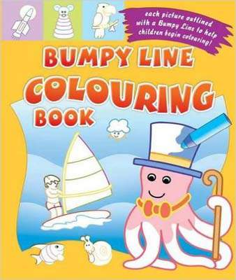 Bumpy Line Colouring Book