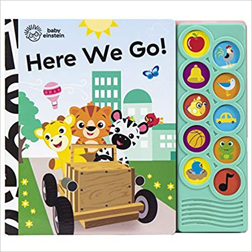 Baby Einstein - Here We Go! 10-Button Sound Book