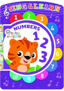 Baby Einstein Numbers - Sing & Learn Book Educational Toys Books