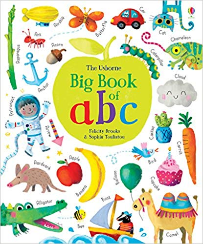 Big Book of ABC - Board book
